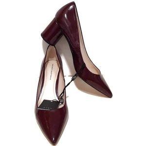 Zara Basic Collection Block Heel Pump 9